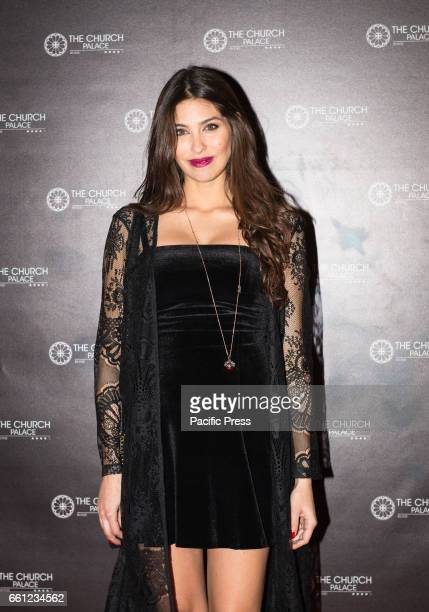 Ariadna Romero on the Red Carpet for the premiere of 'Ovunque Tu Sarai'