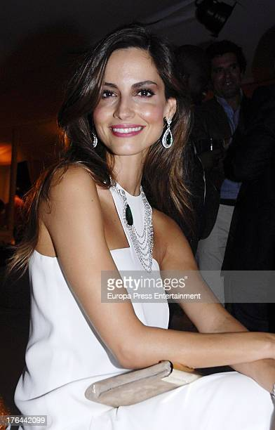Ariadne Artiles attends Chopard party on August 9 2013 in Marbella Spain