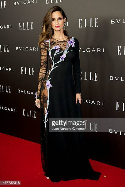 Ariadne Artiles attends Elle Style Awards 2014 photocall at Italian Embassy on October 23 2014 in Madrid Spain