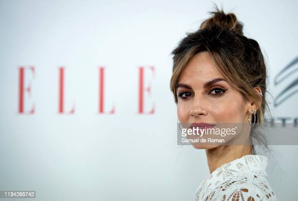 Ariadne Artiles attends Elle Women's Day photocall on March 07, 2019 in Madrid, Spain.