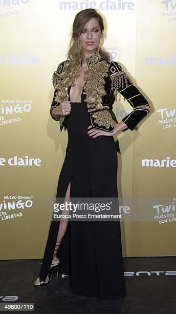 Ariadne Artiles attends Marie Claire Prix de la Moda Awards 2015 at Callao cinema on November 19 2015 in Madrid Spain