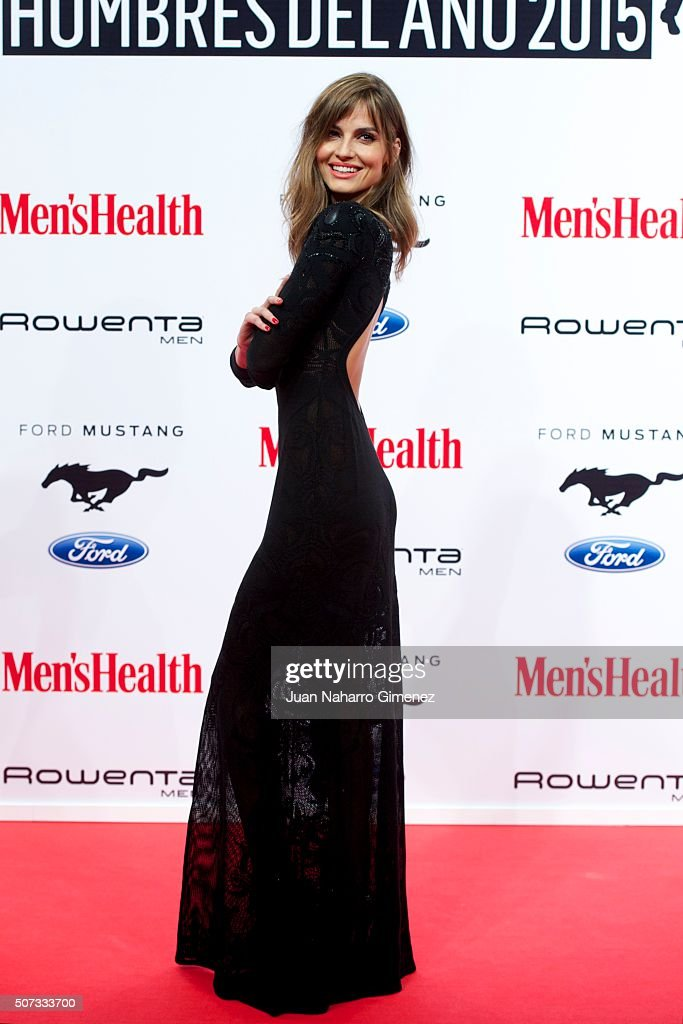 Ariadne Artiles attends Men's Health 2015 Awards on January 28, 2016 in Madrid, Spain.