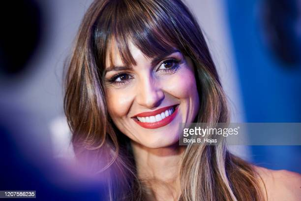 Ariadne Artiles attends 'Sola de Cabras' photocall on February 20, 2020 in Madrid, Spain.