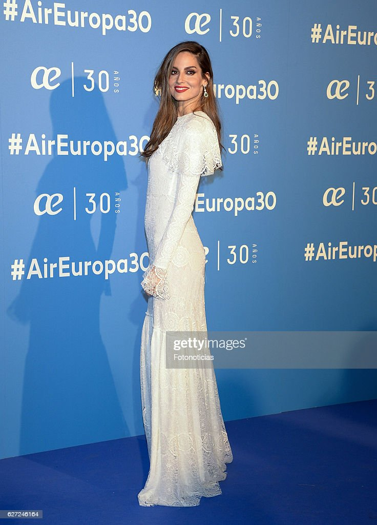 Ariadne Artiles attends the Air Europa 30th Anniversary Event at Palafox Cinema on December 2, 2016 in Madrid, Spain.