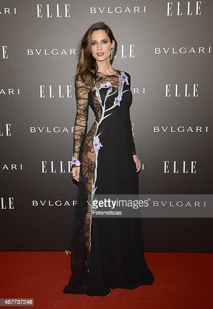 Ariadne Artiles attends the Elle Style Awards party at the Italian Embassy on October 23 2014 in Madrid Spain