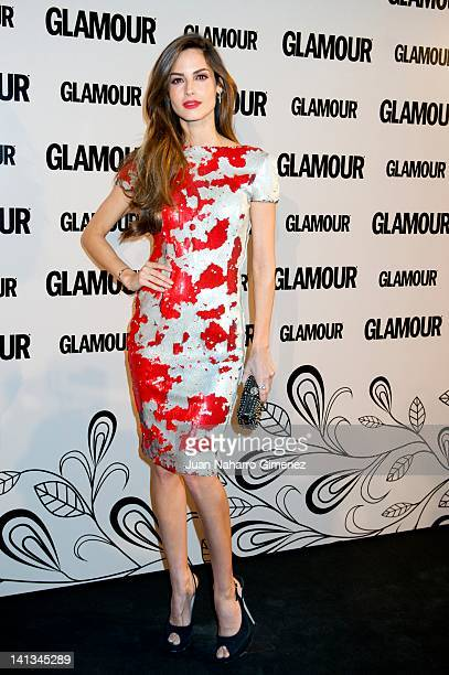 Ariadne Artiles attends X Glamour Beauty Awards at Pacha Club on March 14 2012 in Madrid Spain
