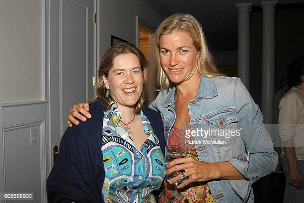 Ariadne CalvoPlatero and Ariane Sodi attend Bettina Zilkha Lucy and Euan Rellie Kick Off the Summer Dinner at Cain Estate on May 26 2006 in...