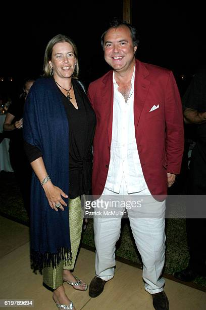 Ariadne CalvoPlatero and Mario CalvoPlatero attend After Party Dinner For First Look Studios KING OF CALIFORNIA at Home of Suzanne Ircha and Woody...