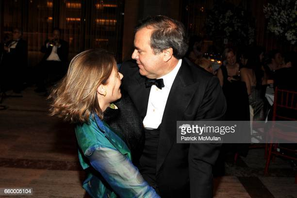 Ariadne CalvoPlatero and Mario CalvoPlatero attend LITERACY PARTNERS 25th Anniversary A Gala Evening of Readings Honoring BARBARA GOLDSMITH NINA...