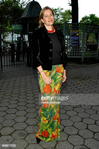 Ariadne CalvoPlatero attends Wildlife Conservation SAFARI MADAGASCAR at Central Park Zoo on May 17 2007 in New York City