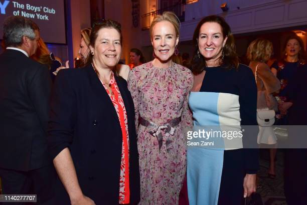 Ariadne CalvoPlatero Carol Mack and Alexia Hamm Ryan attend the BCNY Annual Luncheon at 583 Park Avenue on April 03 2019 in New York City