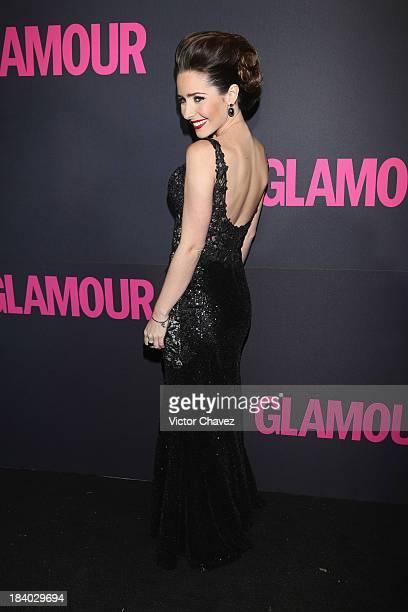 Ariadne Diaz attends the Glamour Magazine 15th Anniversary at Casino Del Bosque on October 10 2013 in Mexico City Mexico