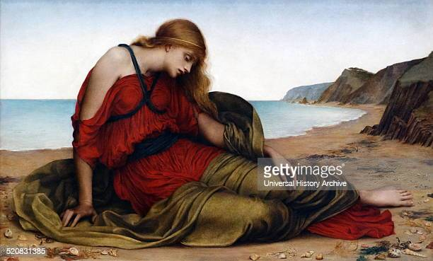 Ariadne in Naxos 1877 by Evelyn De Morgan English PreRaphaelite painter Ariadne in Greek mythology was the daughter of Minos King of Crete She is...