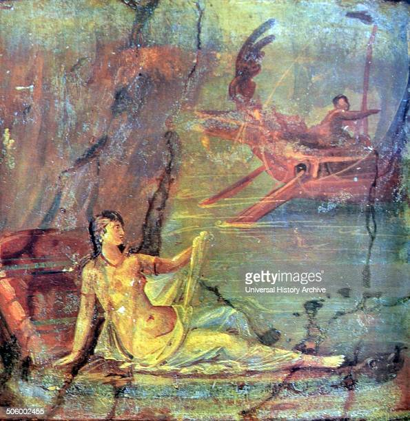 Ariadne is the daughter of Minos In Greek mythology she was put in charge of the labrinth which held the Minotaur This painting depicts her...