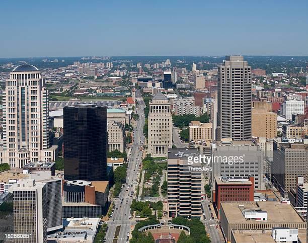 Arial St. Louis Missouri