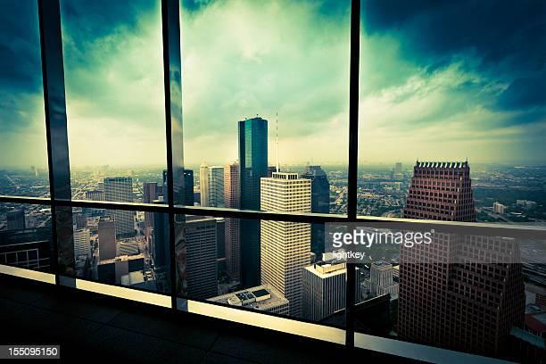 Arial view of Houston Texas