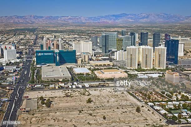 Arial View of Las Vegas Nevada USA