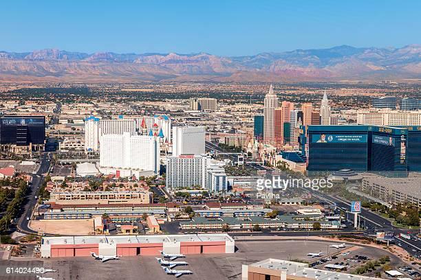 Arial View of Las Vegas ,Nevada, USA