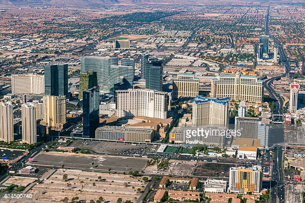 Arial View of Las Vegas ,Nevada, USA