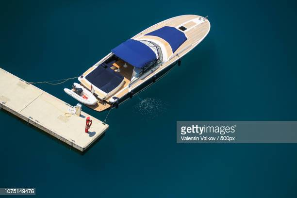 arial view of monte carlo harbour in monaco - monte carlo stock pictures, royalty-free photos & images