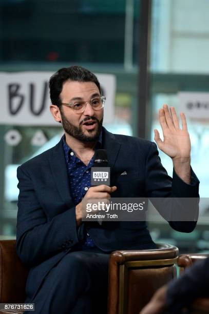 Arian Moayed attends the Build Series to discuss 'The Accidental Wolf' at Build Studio on November 20 2017 in New York City