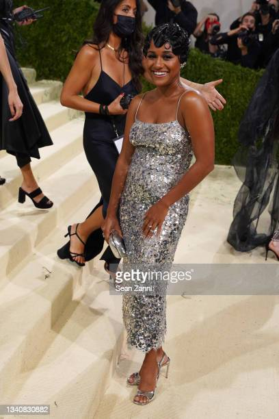Ariana DeBose attends 2021 Costume Institute Benefit - In America: A Lexicon of Fashion at the Metropolitan Museum of Art on September 13, 2021 in...