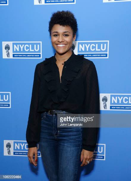 Ariana DeBose attends the 16th Annual Broadway Stands Up For Freedom Concert 'We The People' at Town Hall on October 15 2018 in New York City