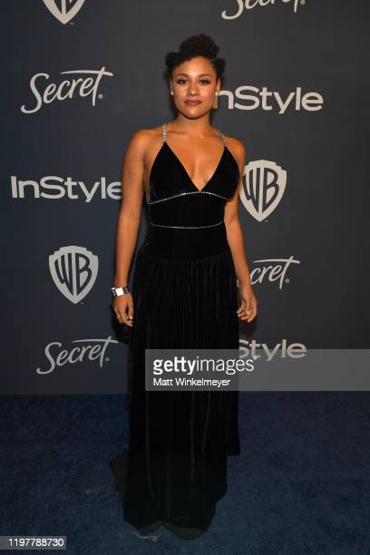 Ariana DeBose attends The 2020 InStyle And Warner Bros 77th Annual Golden Globe Awards PostParty at The Beverly Hilton Hotel on January 05 2020 in...