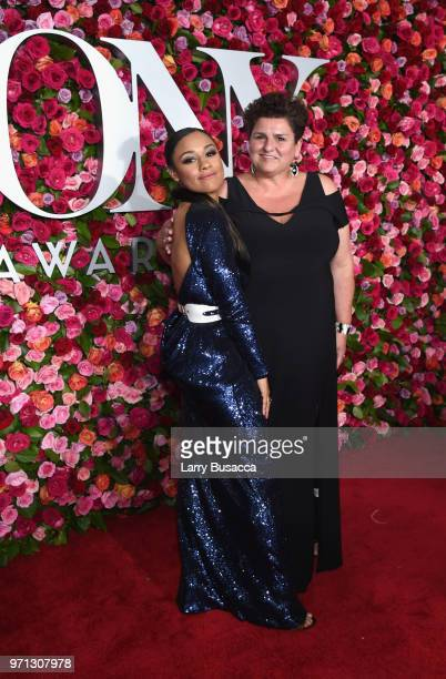 Ariana DeBose attends the 72nd Annual Tony Awards at Radio City Music Hall on June 10 2018 in New York City