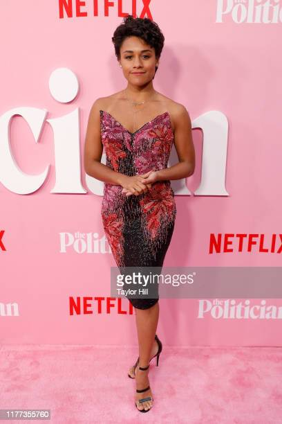 Ariana DeBose attends the premiere of Netflix's The Politician at DGA Theater on September 26 2019 in New York City