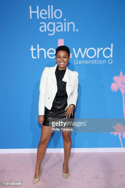 Ariana Debose attends the premiere of Showtime's The L Word Generation Q at Regal LA Live on December 02 2019 in Los Angeles California