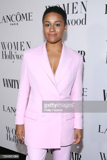Ariana DeBose attends Vanity Fair and Lancôme Toast Women in Hollywood on February 06 2020 in Los Angeles California