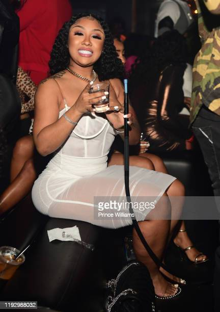 Ariana Fletcher attends Summertime shootout 3 Album Release Party at Gold Room on December 7 2019 in Atlanta Georgia