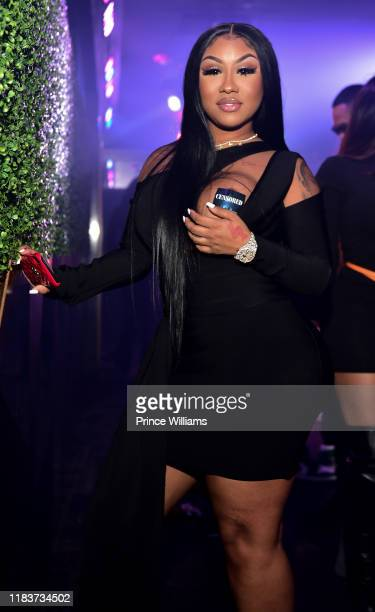 Ariana Fletcher attends the All Black Affair at Gold Room on October 26 2019 in Atlanta Georgia