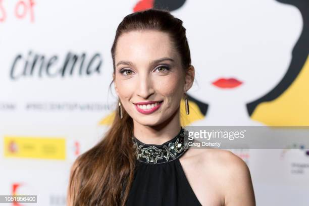 Ariana Gallastegui attends the 24th Annual Recent Spanish Cinema Opening Night Gala at the Egyptian Theatre on October 11 2018 in Hollywood California
