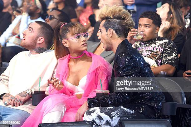 Ariana Grande and her brother Frankie Grande attend the 2016 MTV Video Music Awards at Madison Square Garden on August 28, 2016 in New York City.