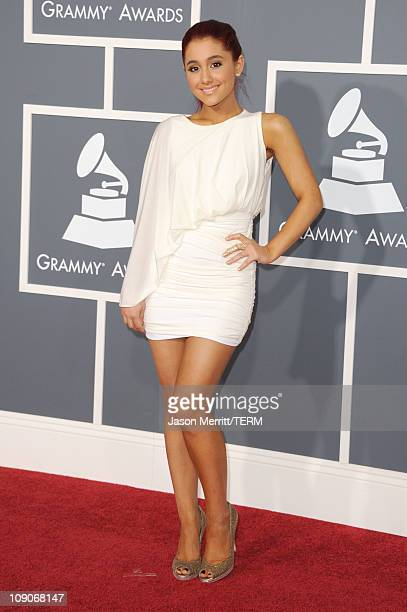 Ariana Grande arrives at The 53rd Annual GRAMMY Awards held at Staples Center on February 13 2011 in Los Angeles California