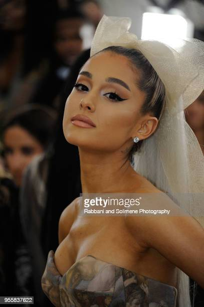 Ariana Grande attends Heavenly Bodies Fashion The Catholic Imagination Costume Institute Gala at the Metropolitan Museum of Art in New York City
