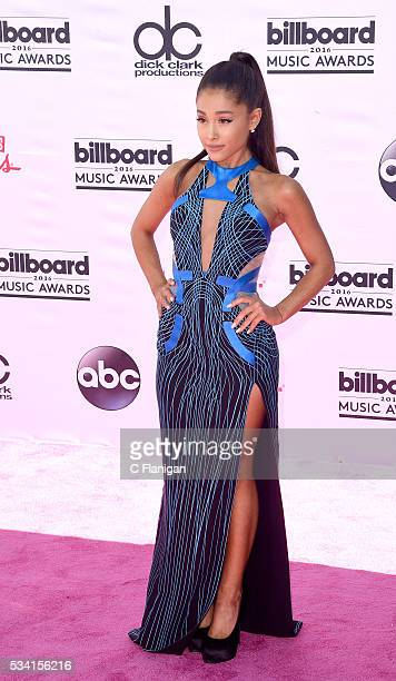 Ariana Grande attends the 2016 Billboard Music Awards at TMobile Arena on May 22 2016 in Las Vegas Nevada