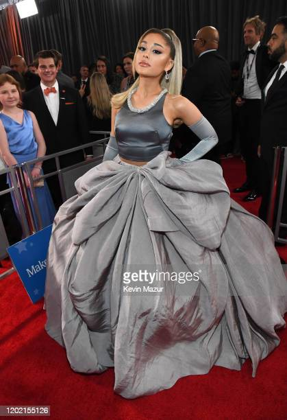 Ariana Grande attends the 62nd Annual GRAMMY Awards at STAPLES Center on January 26 2020 in Los Angeles California