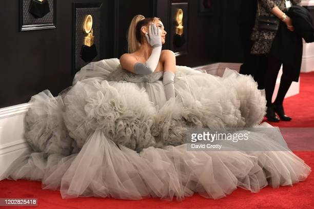 Ariana Grande attends the 62nd Annual Grammy Awards at Staples Center on January 26, 2020 in Los Angeles, CA.