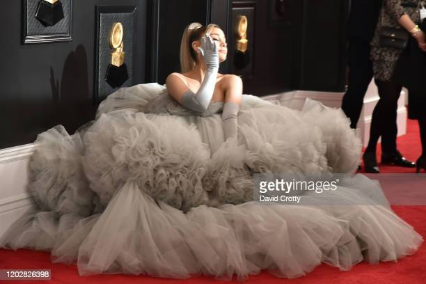 Ariana Grande attends the 62nd Annual Grammy Awards at Staples Center on January 26 2020 in Los Angeles CA