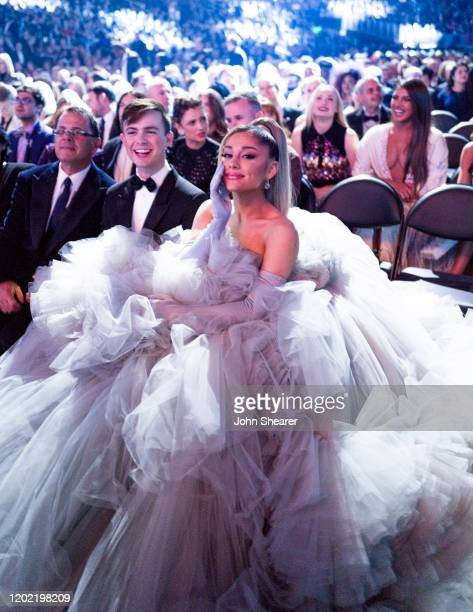 Ariana Grande attends the 62nd Annual GRAMMY Awards on January 26 2020 in Los Angeles California