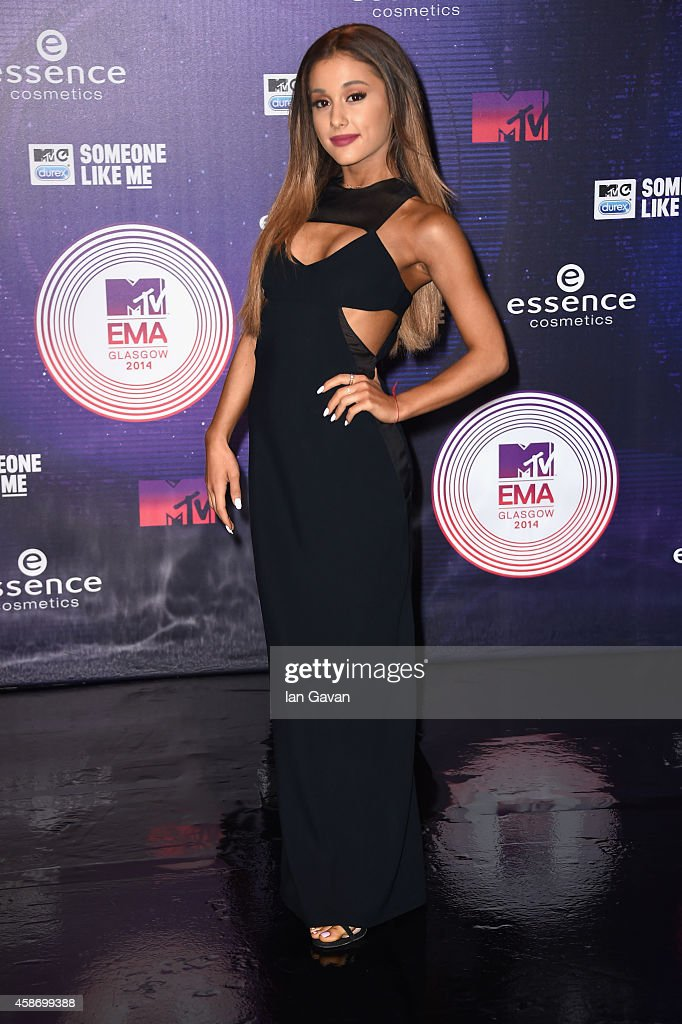 Ariana Grande attends the MTV EMA's 2014 at The Hydro on November 9, 2014 in Glasgow, Scotland.