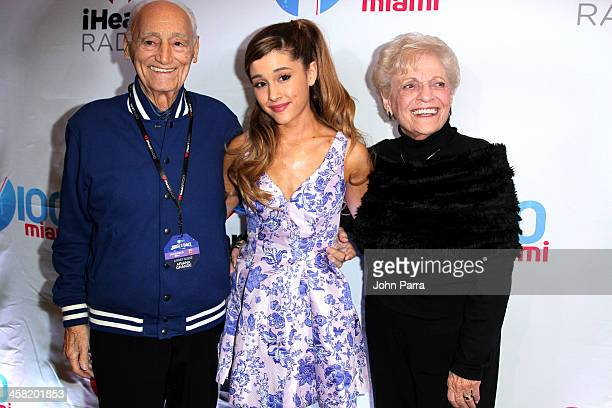 Ariana Grande attends Y100's Jingle Ball 2013 Presented by Jam Audio Collection at BBT Center on December 20 2013 in Miami Florida
