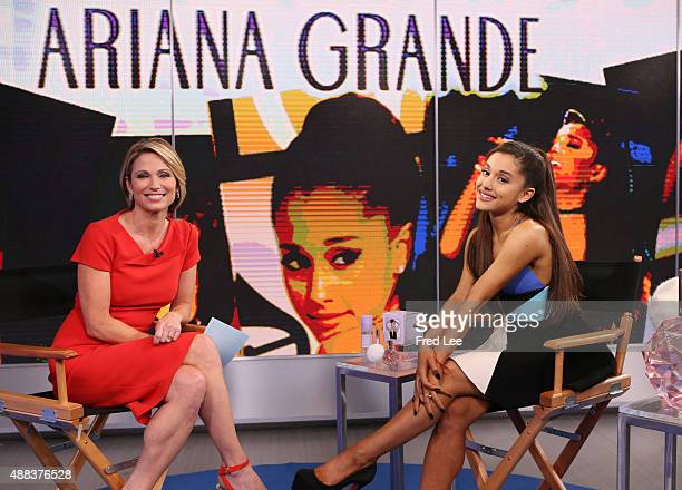 """Ariana Grande is a guest on """"Good Morning America,"""" 9/15/15, airing on the Walt Disney Television via Getty Images Television Network."""