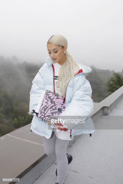 Ariana Grande is seen on March 10 2018 in Los Angeles California