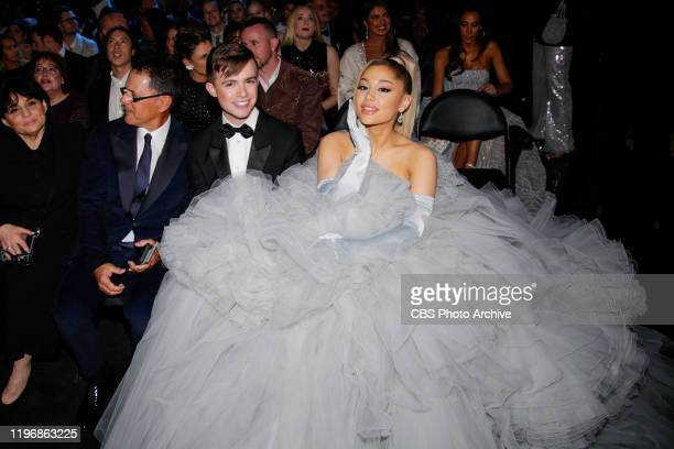 Ariana Grande Performs at THE 62ND ANNUAL GRAMMY® AWARDS broadcast live from the STAPLES Center in Los Angeles Sunday January 26 2020 on the CBS...