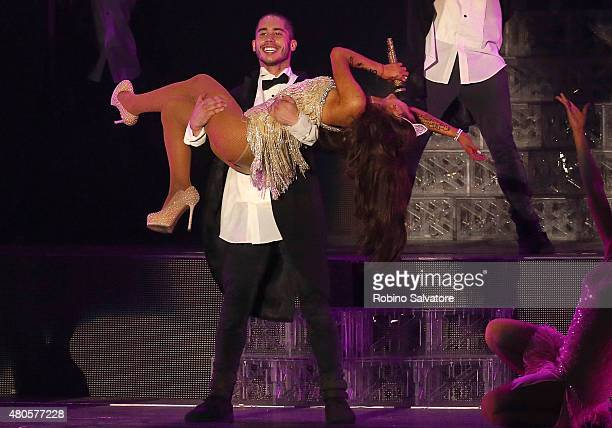 Ariana Grande Performs In Milan with new boyfriend Ricky Alvarez 2015 May 25 in Milan Italy