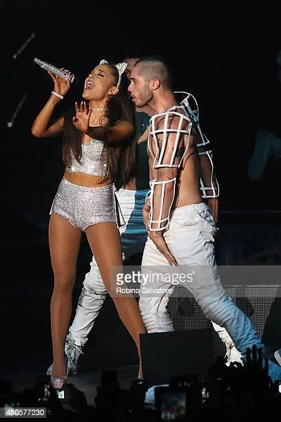Ariana Grande Performs In Milan with new boyfriend Ricky Alvarez 2015 May 25 in Milan Italy
